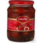 Vegetables tomato cherry tomatoes Same toi pickled 660g glass jar Ukraine