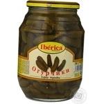 Vegetables cucumber Iberica pickled 930g glass jar Spain
