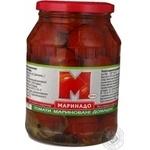 Vegetables tomato Marinado slightly acidic 920ml glass jar Ukraine