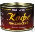 Natural instant coffee Moskofe Moscow 100g India