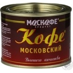 Natural instant coffee Moskofe Moscow 50g India