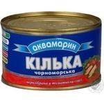 Килька Аквамарин черноморская неразобранная в томатном соусе 240г