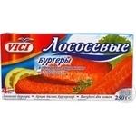 Бургери Вічі рибна паніровка 250г Росія