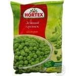 Горошек Hortex зеленый замороженный 400г