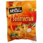 Картопля фрі Золотиста класична нарізна McCain с/м 750г