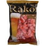 Креветки неочищені 90/120 Rakor варено-морожені 1кг