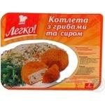 Котлета Легко! с грибами и сыром замороженная 4шт 430г Украина