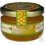 Honey Zlatomed white acacia 170g glass jar Ukraine