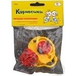 Soother Kurnosiki silicone for children 1pc China