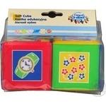 Іграшки м'які Canpol Кубики 2шт 2/805