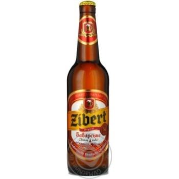 Пиво Зиберт Баварское светлое 5.6% 500мл Украина