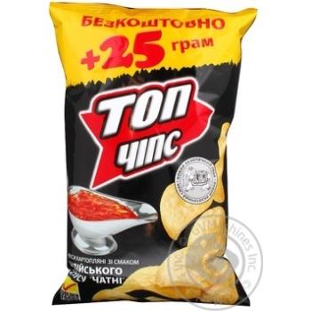 Чипсы Топ чипс с соусом 175г