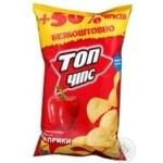 Чипсы Топ чипс картофель с паприкой 75г Украина