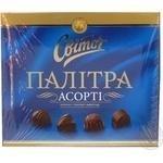 Конфеты Свиточ Палитра 130г Украина
