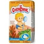Puree Spelenok buckwheat cream for children 125g Russia