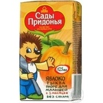 Puree Sady pridonia apple pumpkin for children 125g Russia