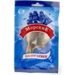 Snack yellow balaenoptera Morskie yellow salted dried 20g packaged