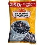 Семечки Вкусные традиции подсолнечника жареная 250г Украина