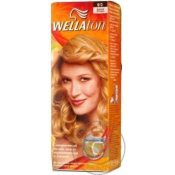 Color Wellaton blond for hair