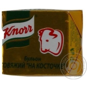 Бульйон яловичий на кісточці Knorr 36*10г