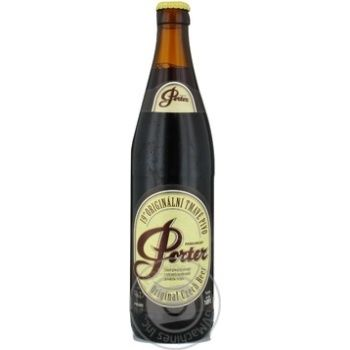 Pardubicky Porter Original beer  8% 0,5l - buy, prices for Novus - image 1
