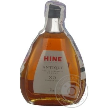 Коньяк Хайн Гранд шампань 40% xo 50мл стеклянная бутылка Франция