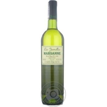 Вино Ле жамель белое сухие 12.5% 2009год 750мл стеклянная бутылка Лангедок-руссийон Франция