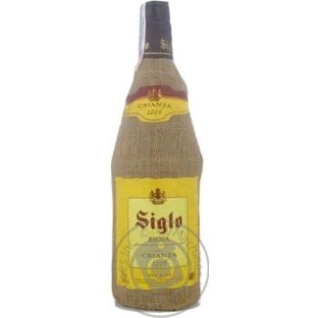 Вино Сигло красное сухие 13.5% 2006год 750мл стеклянная бутылка Риоха Испания