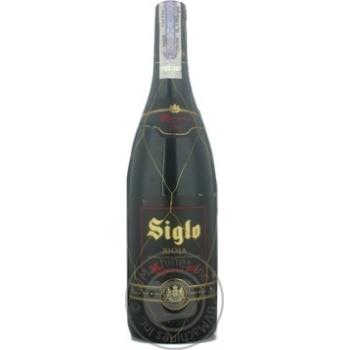 Вино Сигло красное сухие 13.5% 2003год 750мл стеклянная бутылка Риоха Испания