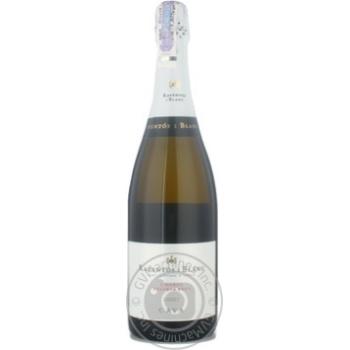 Вино ігристе Reventosi Blanc Cava Reserva біле сухе 11% 0.75л