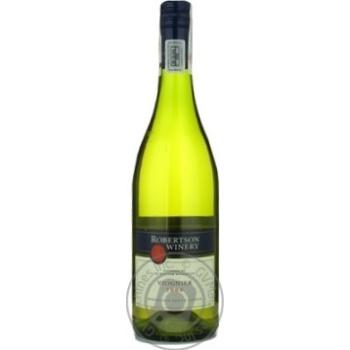 Вино Робертсон белое сухие 13.5% 2008год 750мл стеклянная бутылка Брод ривер Юар