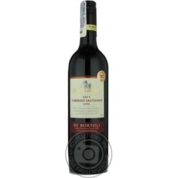Вино каберне-совиньон Дэ бортоли красное сухое 14.5% 2006год 750мл стеклянная бутылка Риверленд Австралия