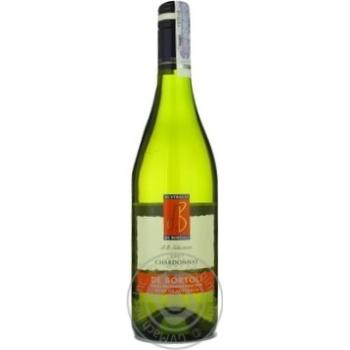 Вино шардонe Дэ бортоли белое сухое 13% 2007год 750мл стеклянная бутылка Ярра вэлли Австралия