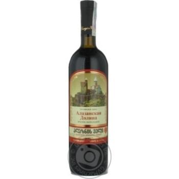 Вино Дом грузинского вина красное полусладкое 11% 750мл стеклянная бутылка Грузия