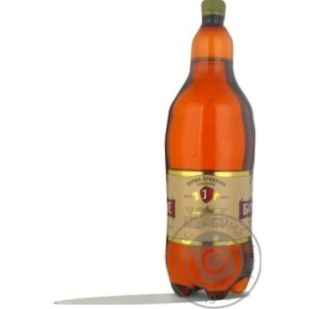 Пиво Перша Приватна Броварня Бочковое світле 4,5% 2л - купити, ціни на ЕКО Маркет - фото 2