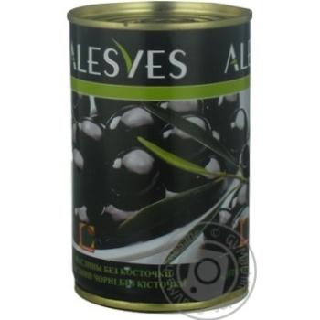 оливка Эльсев черное консервированная 300г железная банка Испания