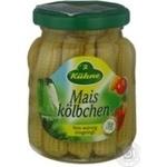 Vegetables corn Kuhne canned 180g glass jar