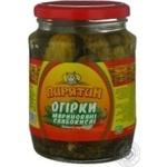 cucumber Piryatin slightly acidic 720g Ukraine