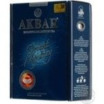 Tea Akbar black loose 100g cardboard packaging Sri-lanka