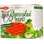 Пирог Бисквит-шоколад Венский пирог яблоко 275г Украина