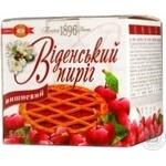 Пирог Бисквит-шоколад Венский пирог вишня вишня 275г Украина