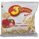 Сухари Три корочки с хреном 100г Украина