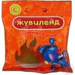 Candy Zhuvilend Afrikanzi v tanzi 40g packaged Ukraine