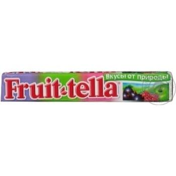 Конфеты жевательные Fruit-tella Летний Сад 41г