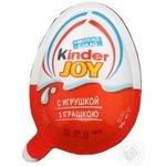 Яйцо шоколадное Kinder Джой с сюрпризом 20г