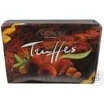 Truffle Cemoi chocolate with oat flakes with filling 200g box France