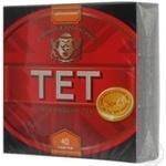 Черный чай ТЭТ цейлонский байховый мелкий в пакетиках 40х2.2г Англия