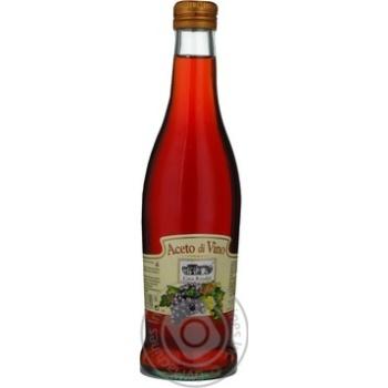 Уксус Casa Rinaldi винный красный 6% 500мл