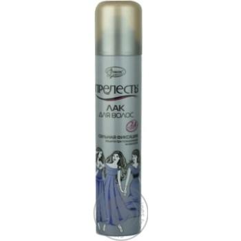 Лак для волос Прелесть Сильная фиксация 200мл - купить, цены на Восторг - фото 2