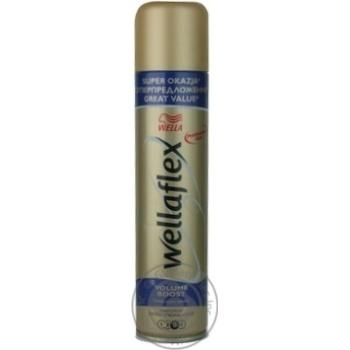 Лак Wellaflex Длительная поддержка объема для волос 400мл - купить, цены на Ашан - фото 2